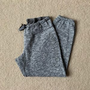 Grey and White Patterned Calvin Klein Joggers